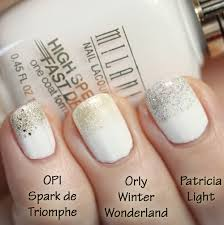 summer nail color trends 2014 summer nail trend glitter tipped white nails all lacquered up