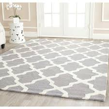 Area Rug Square Safavieh Cambridge Silver Ivory 8 Ft X 8 Ft Square Area Rug