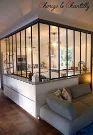 verriere atelier cuisine déco cuisine esprit atelier avec une verrière intérieure