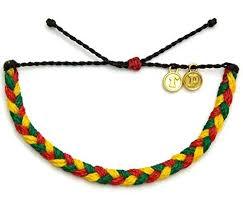 love braided bracelet images Pura vida one love green red yellow braided bracelet jpg