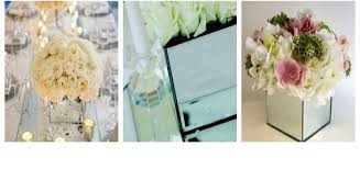 Mirrored Vases Cherry Williams Party Hire Event And Party Decor Vases