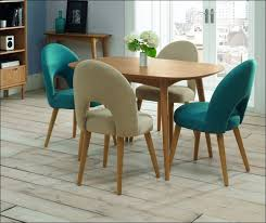 kitchen colorful dining chairs glass dining room table wooden