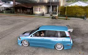 mitsubishi wagon mitsubishi lancer evolution ix mr wagon drift spec for gta san andreas