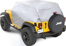 jeep wrangler 4 door silver rampage products 11181 1220 silver multiguard cab cover for 07 17