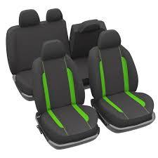 housses si es auto sur mesure housses de siège fluo vert pour auto achat vente housse de siège