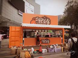 20 feet shipping container kitchen pop up container coffee bar