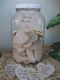 wedding wish jar jar guest book guest book alternative wedding wishing well