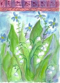 161 best lavender and lily of the valley images on pinterest