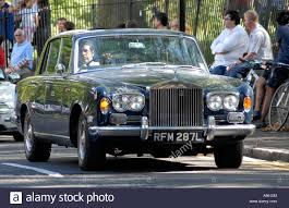 roll royce london classic rolls royce car in primrose hill london stock photo