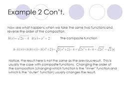 composite functions ppt download