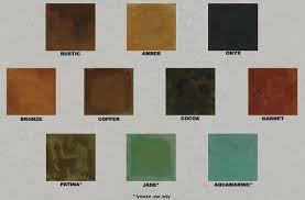 Interior Wood Stain Colors Acid Stain Colors Color Can Add Interest To A Plain Concrete