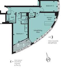 Tower Of London Floor Plan by 2 Bedrooms Property Available To Rent In Unex Tower Stratford