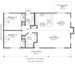 1200 Square Foot Floor Plans Cabin Style House Plan 2 Beds 1 00 Baths 1200 Sq Ft Plan 932 8