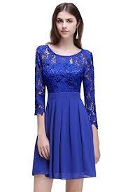 royal blue lace dresses amazon com