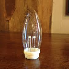 Window Candle Lights Light Bulb Torpedo Bulb Replacement For Dual Intensity Window