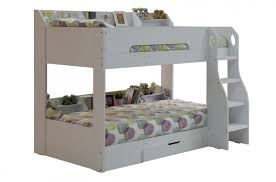 Flair Furnishings Flick White Bunk Bed By Flair Furnishings - Joseph maple bunk bed