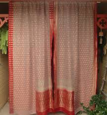 curtain adorable design of boho curtains for chic home decoration