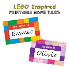 printable name tags lego inspired printable name tags simply designs