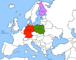Map Of Germany And Poland by What If Germany And The Usa Switched Places But The Usa Was