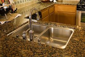 Granite Countertops Charlotte NC Custom Granite Solutions - Kitchen counter with sink