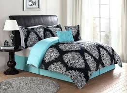 Black White Turquoise Teal Blue by Black And Teal Duvet Covers U2013 De Arrest Me