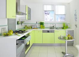 cuisine verte anis exemple cuisine vert anis et blanc