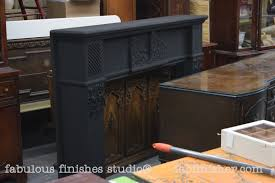 Bronzing A Fireplace Mantel And A Brass Doors Insert Fabulously
