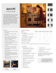 download free pdf for wolf df486g range manual
