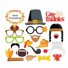 20pcs thanksgiving day photo booth props give thanks