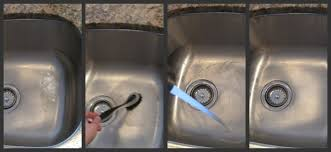 Easy Ways To Deep Clean And Organize Your Kitchen - Cleaning kitchen sink with baking soda
