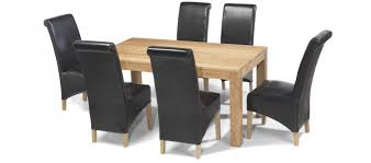 Oak Dining Table With 6 Chairs Dining Table With 6 Chairs Best Gallery Of Tables Furniture
