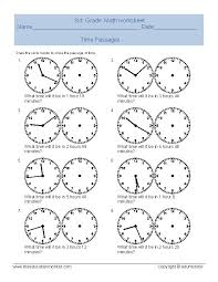 third grade telling time worksheets telling time worksheets pdf