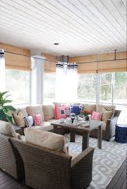 youll love these ideas for beautiful outdoor curtains diy screened