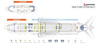 seat map boeing 747 400 qantas airways best seats in the plane