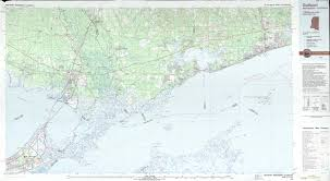 South Louisiana Map by