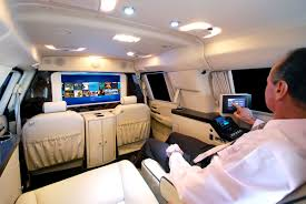 inside cadillac escalade becker automotive design luxury transport coaches sprinter