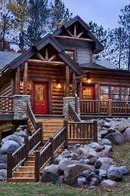 log style homes log home photos nicolet home tour expedition log homes llc