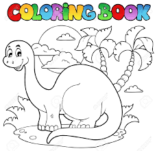 classy idea dinosaur coloring book apatosaurus coloring pages
