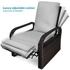 luxury patio recliner chair babylon dualuse indooroutdoor resin
