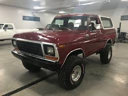 79 Ford Bronco Interior 1979 Ford Bronco 4 Wheel Classics Classic Car Truck And Suv Sales