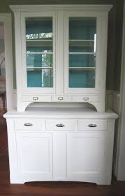 Small Kitchen Hutch Cabinets Mahogany Wood Colonial Madison Door White Kitchen Hutch Cabinet