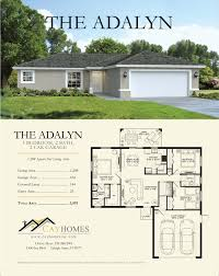 Florida Home Floor Plans The Aamon Model Details Cay Homes New Home Builder In Lehigh Fl