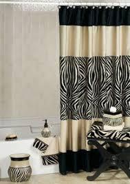 Safari Bathroom Ideas Believe Shower Curtain For Afrocentric Home Pinterest