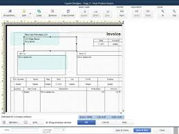 layout designer customize quickbooks 2014 invoices with the layout designer tool