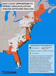 Map Of North Carolina Coast Grassroots Opposition To Offshore Drilling And Exploration In The