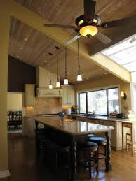 vaulted kitchen ceiling ideas lighting in kitchen with high ceilings and also charming dining