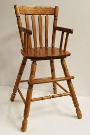 Antique Wood High Chair A High Style Diy High Chair How Tos Diy