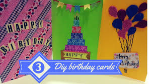birthday card for best friends diy 3 easy greeting card ideas birthday cards for best friends