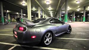 toyota supra toyota supra twin turbo exhaust sound youtube