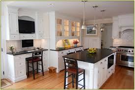 honed black granite fireplace surround home design ideas